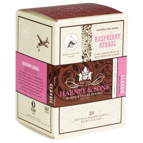 Utica Coffee Roasters Harney Raspberry Tea 20ct thumbnail