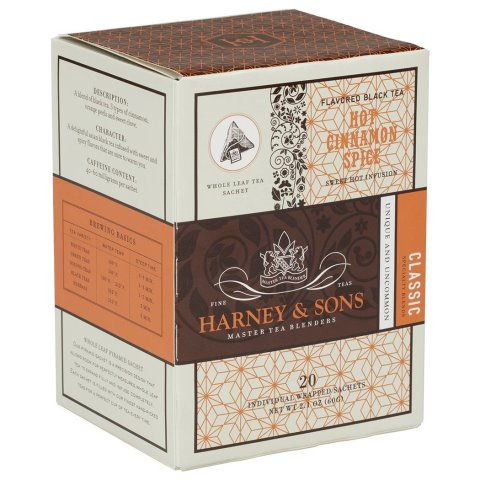 Utica Coffee Roasters Harney Cinnamon Spice Tea 20ct thumbnail