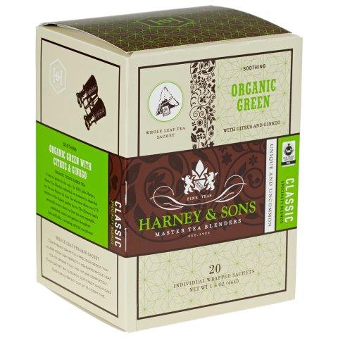 Utica Coffee Roasters Green Citrus Ginkgo Tea 20ct thumbnail