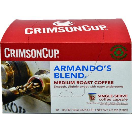 K-Cup Crimson Cup Armando's Blend 12ct thumbnail