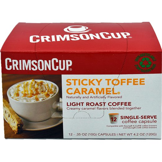K-Cup Crimson Cup Sticky Toffee 12ct thumbnail