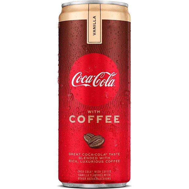 Coke Coffee Vanilla 12oz thumbnail